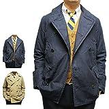 (ポロ ラルフローレン) Polo Ralph Lauren 《ツイルミリタリー Pコート:Twill Military Pea Coat》 (Sサイズ, 01.ネイビー) [並行輸入品]