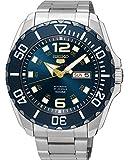 セイコー SEIKO 自動巻き メンズ 腕時計 SRPB37K1 ブルー アナログダイヤル オートマチック手巻き機能付き [並行輸入品]