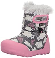 Bogs Baby B-Moc Bears Snow Boot Dark Gray Multi 10 M US Toddler [並行輸入品]