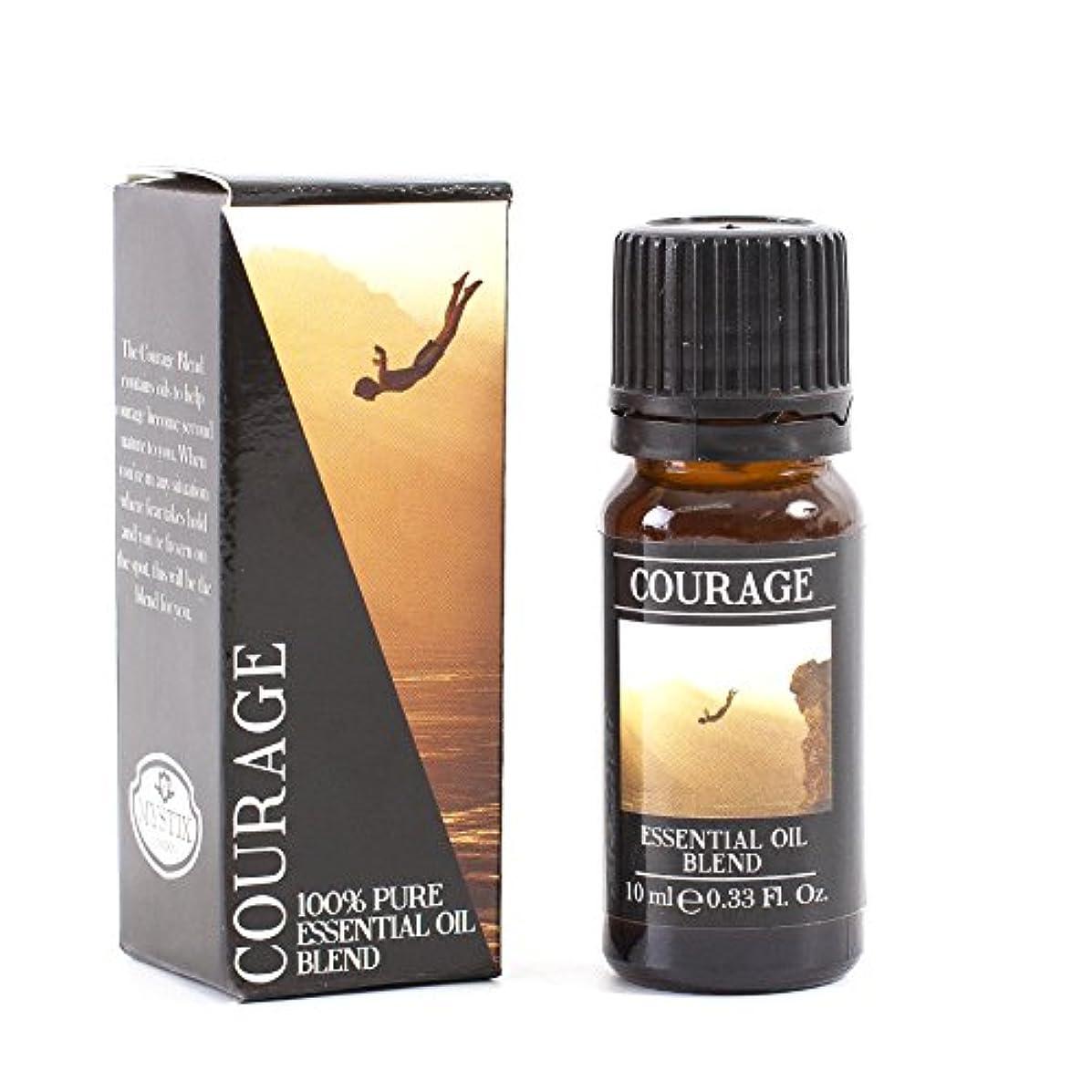 シャーファセット舗装するMystic Moments | Courage Essential Oil Blend - 10ml - 100% Pure