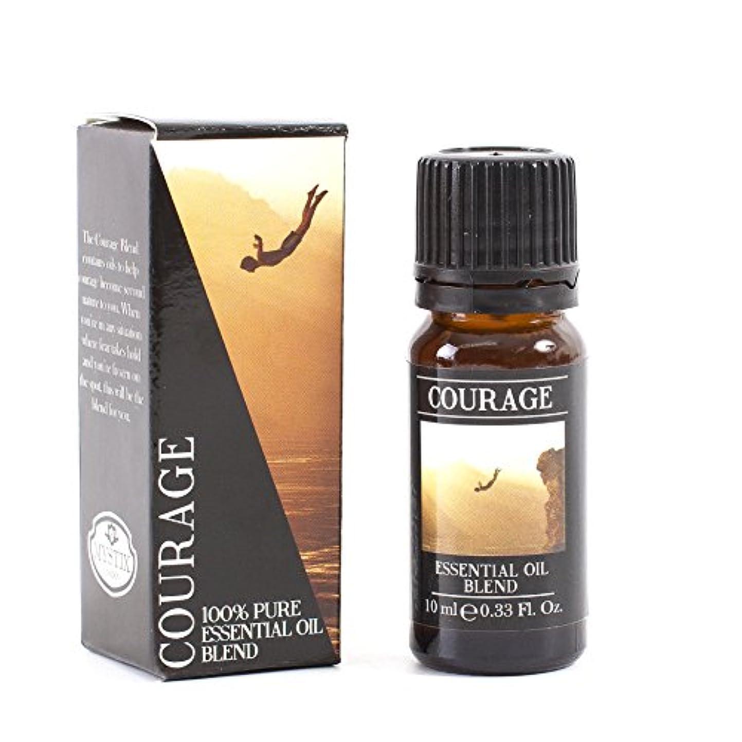 メリー受益者テニスMystic Moments | Courage Essential Oil Blend - 10ml - 100% Pure
