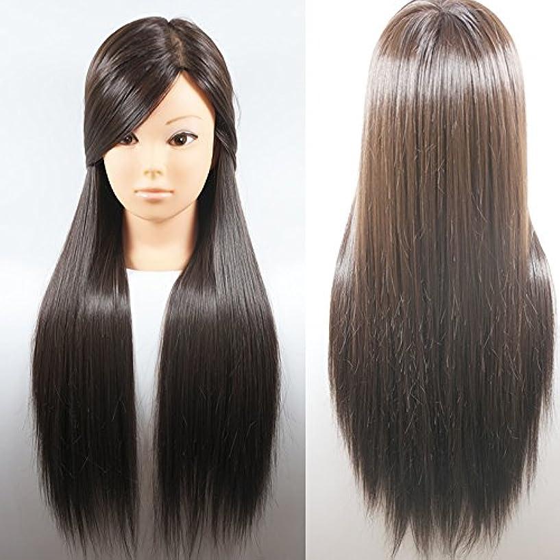 一流狐ジャグリングヘアメイク実践トレーニング美容マネキンヘッド100%人工毛ーブロンドヘア66センチ