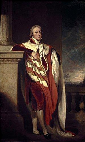 Oil painting ' Lawrenceトーマス・ジョン・フェインX conde de Westmoreland CA。1806'印刷高品質ポリエステルキャンバスに、8x 13インチ/ 20x 34cm、最高のホーム、地下室装飾アートワークとギフトはこの素晴らしいアート装飾プリントキャンバス