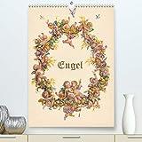 Engel(Premium, hochwertiger DIN A2 Wandkalender 2020, Kunstdruck in Hochglanz): Kleine Himmelsboten auf historischen Postkarten (Monatskalender, 14 Seiten )