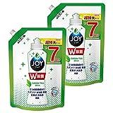 【まとめ買い】 除菌ジョイ コンパクト 食器用洗剤 緑茶の香り 詰め替え 超特大 960mL × 2個