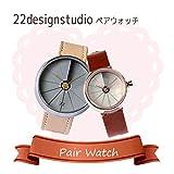 22designstudio 【ペアウォッチ】4th Dimension Watch 腕時計 CW02001 CW05003 [並行輸入品]