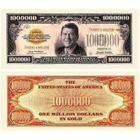Set of 100 - Thanks A Million Dollar Bill Ronald Reagan by American Art Classics [並行輸入品]