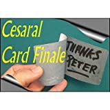 Cesaral Card Finale ( 2 Deck Red & Blue) by Cesar Alonso (Cesaral Magic) - Trick [並行輸入品]