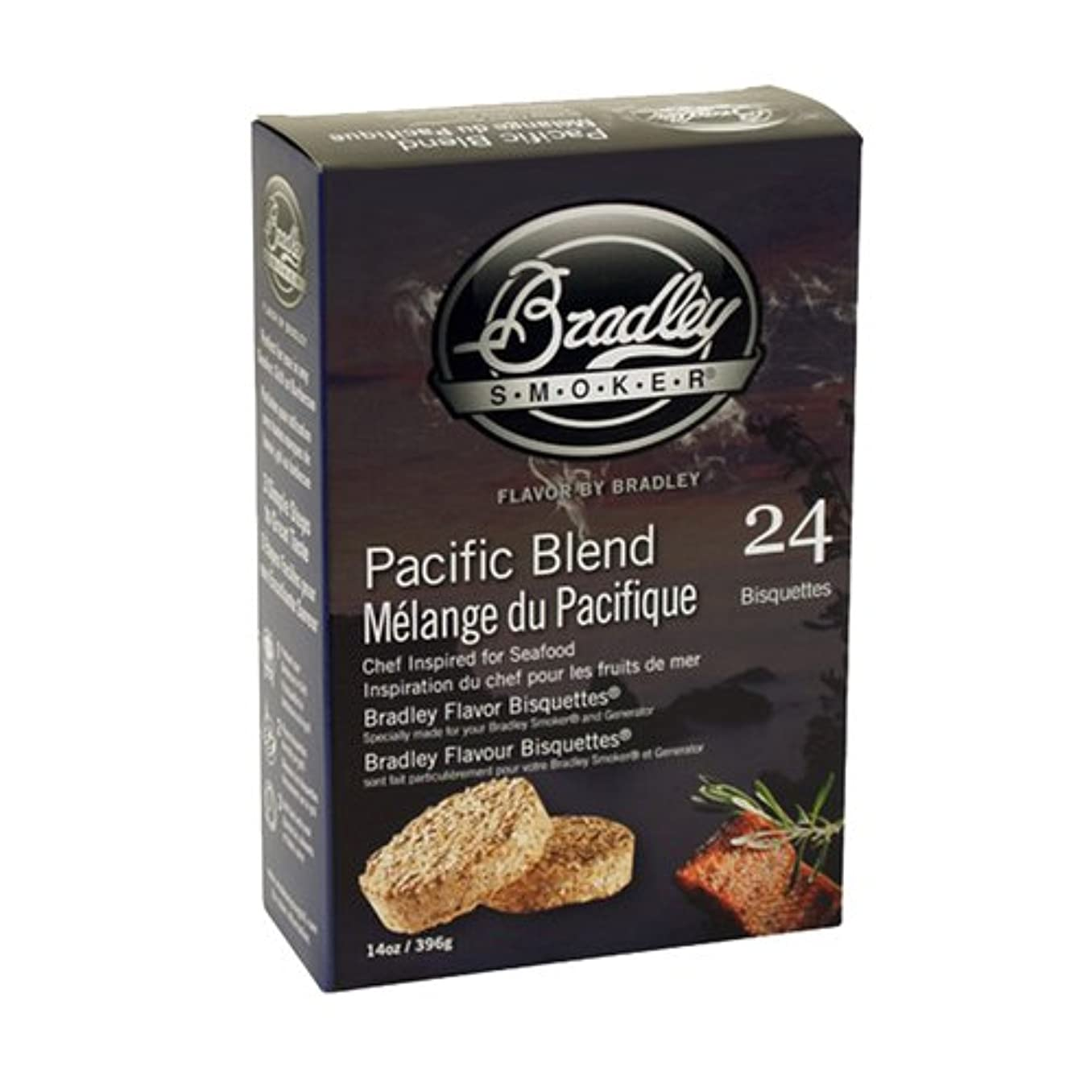 担保脅かす慎重BRADLEY PACIFIC BLEND SMOKERS BISQUETTES (PACK OF 24)