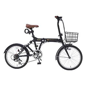 My Pallas(マイパラス) 折畳自転車 20インチ 6段ギア オールインワン カラー/マットブラック SC-07PLUS SC-07PLUS マットブラック 20インチ