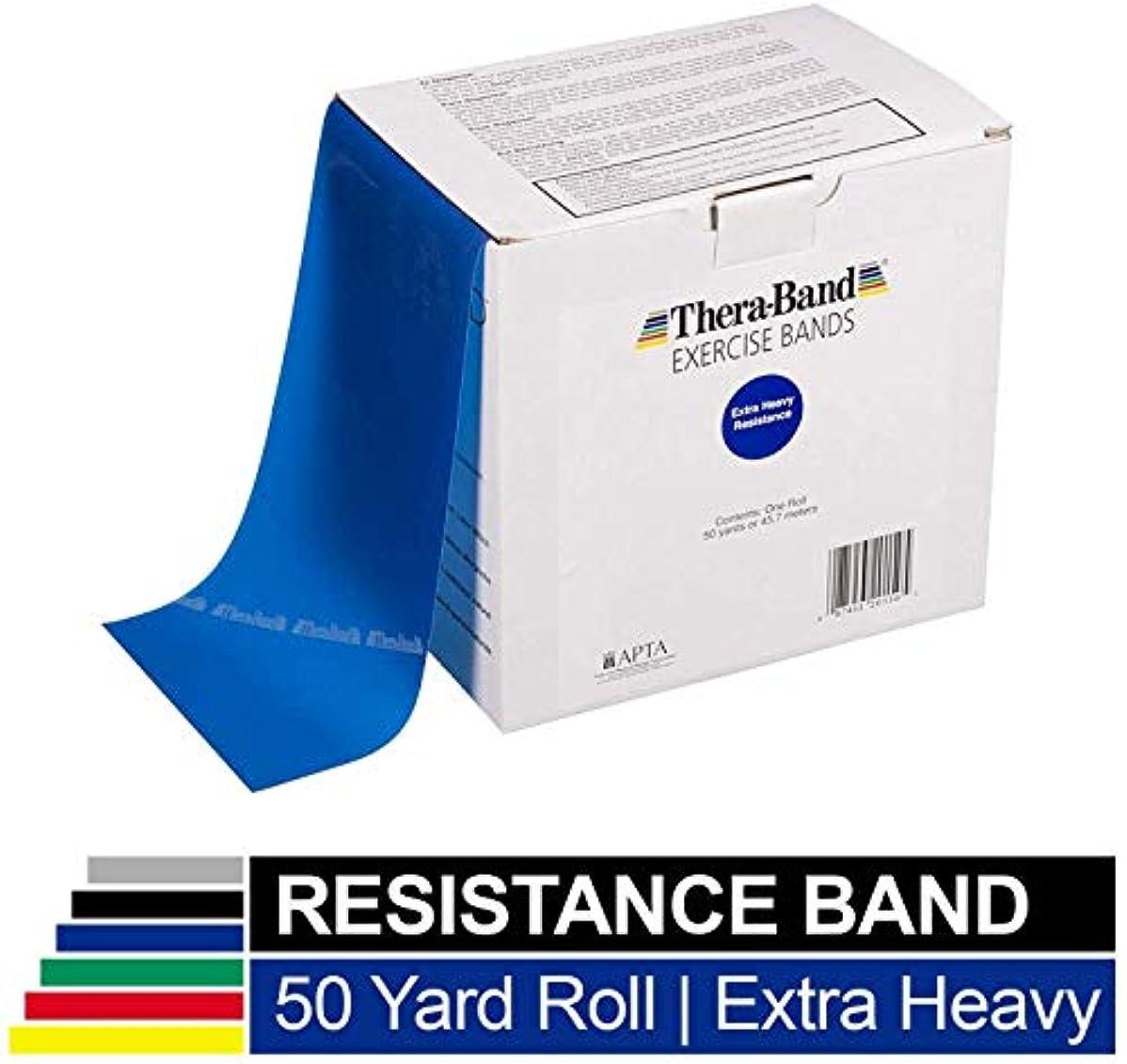 結晶一部弾薬thera-band in 45 M Rollsブルー, Extra Strong