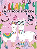 Llama MAZE Book For Kids: Maze Activity Book for Kids | Beautiful Llama Maze Book for Smart Kids