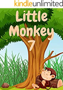Little Monkey 7: Monkey books for kids, Bedtime story, Fable Of  Little Monkey 7, tales to help children fall asleep fast. Animal Short Stories, By Picture Book For Kids 2-6 Ages (English Edition)