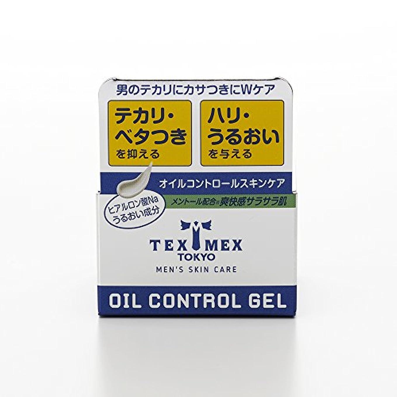 硬化する慣れる同盟テックスメックス オイルコントロールジェル 24g (テカリ防止ジェル) 【塗るだけでサラサラ肌に】