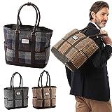 ハリスツイード トートバッグ メンズ かばん 鞄 ハリス・ツイード Harris tweed Men's 紳士用 ハリスツイードトートバッグ 68885(ネイビー)