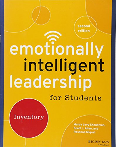 Download Emotionally Intelligent Leadership for Students: Inventory 1118821661