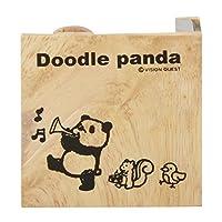 ビジョンクエスト テープカッター ドゥードゥルパンダ DPT20-03 パレード 木製