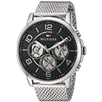 Tommy Hilfiger Men's Quartz Stainless Steel Watch, Color:Silver-Toned (Model: 1791292)