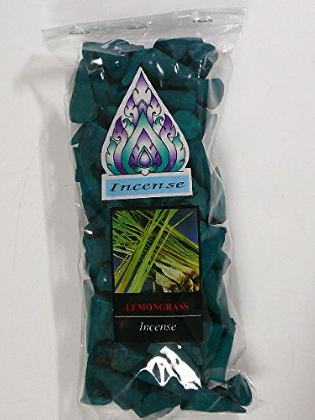 明るいリズミカルな四面体レモングラス コーンタイプのお香 [並行輸入品]