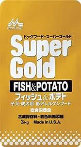 スーパーゴールド フィッシュ&ポテト 3k 子犬・成犬用