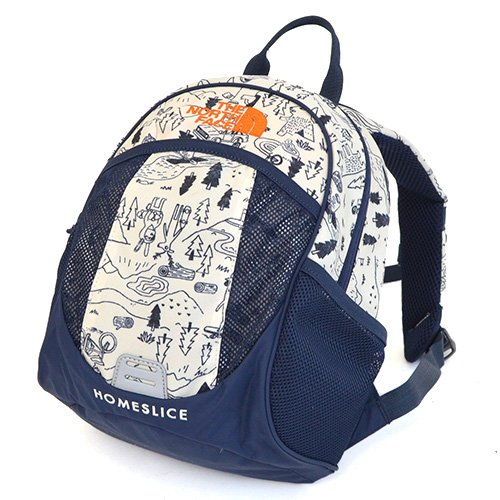 THE NORTH FACE(ザ・ノースフェイス) リュックサック キッズ ホームスライス 8L NMJ71656 CP-クリッタープリント homeslice-limited-NMJ71656-CP