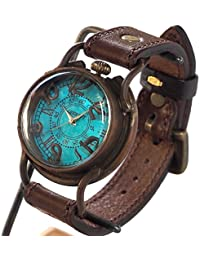 (アークラフト) ARKRAFT 手作り腕時計 PATRICE OCEAN プレミアムストラップ (エトルスコ・ブラック)(受注制作)