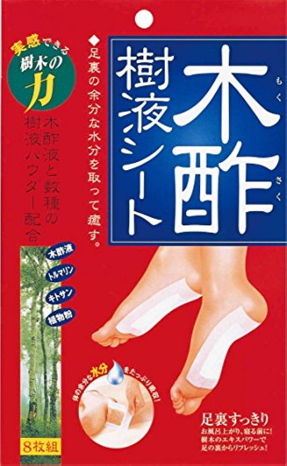 ポークあえぎ鑑定コジット 木酢樹液シート 8枚組