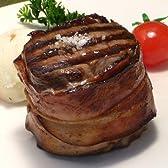 アメリカ産サーロインステーキのベーコン巻 - 超厚切りステーキ・牛ステーキ・メダリオン(メダイヨン) 【販売元:The Meat Guy(ザ・ミートガイ)】