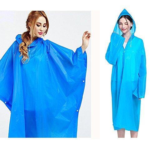 [해외]Treat Me 비옷 판쵸 2 장 세트 판쵸 레인 배낭 대응 플랜지가 야외 남녀 겸용 자전거 비옷 패션 자전거 스팟 관전 여행 통근 통학 고품질 경량 프리 사이즈 방수 방오/Treat Me Raincoat Poncho 2 pcs set Poncho Rainwear Backpack Supplied Hairst...