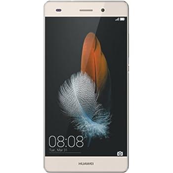 HUAWEI SIMフリースマートフォン P8 lite 16GB (Android 5.0/オクタコア/5.0inch/nano SIM/microSIM/デュアルSIMスロット) ゴールド [OCN モバイル ONE 音声対応マイクロSIM付] ALE-L02-GD SIMSET