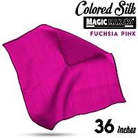 Magic Makers Professional Grade 36 Inch Magician's Silk - Fuchsia Pink
