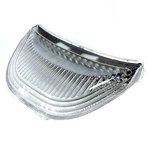 ホンダ 用 LED テール ライト ランプ ウインカー 付 スモーク クリアー レンズ CBR 600 RR CBR 1000 RR ドレスアップ カスタム パーツ 部品 社外品 (クリアーレンズ)