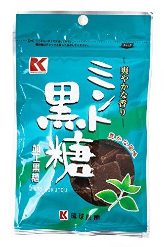 琉球黒糖 ミント黒糖 50g×6袋