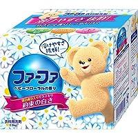 NSファーファ・ジャパン コンパクト粉末洗剤 洗濯用 ベビーフローラル 900g