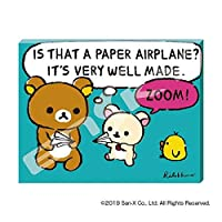 可愛いリラックマのジグゾーパズル! ATB-08 リラックマ のんびりかみひこうき アートボードジグソー 30366008 〈簡易梱包