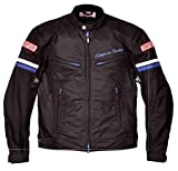 シンプソン(SIMPSON) バイクジャケット メッシュジャケット ブルー 4L SJ-7118