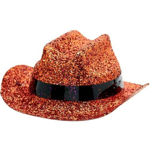MINI COWBOY HAT ORANGE 1 COUNT おもちゃ [並行輸入品]