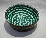 ベトナム雑貨 漆器 椀ココナッツの実 丸型 167模様 [並行輸入品]