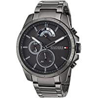 Tommy Hilfiger Men's 'COOL SPORT' Quartz Resin Casual Watch, Color:Grey (Model: 1791347)