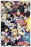 ポスター: Fairy Tailポスター???Season 6キーアート( 36?x 24インチ) 24  x 36  Inch 106624R017