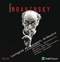 Evgeny Mravinsky Conducts the Leningrad Philharmonic Orchestra (12 CD)