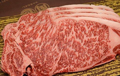 松阪牛 サーロインステーキ          【 お礼 お祝 お中元 お歳暮 引き出物 牛肉 和牛 景品 松坂牛まるよし 】 (200g×4枚)