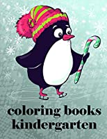 Coloring Books Kindergarten: Cute Christmas Animals and Funny Activity for Kids (Animals Farm)