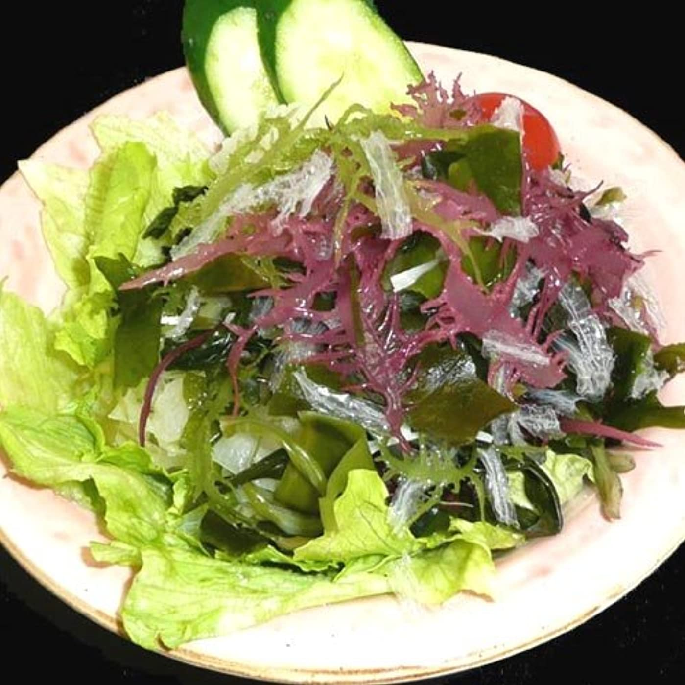 議論するバケツ鎖サンエイオンラインショップ 業務用海藻かんてんダイエットサラダ 100g 9食分