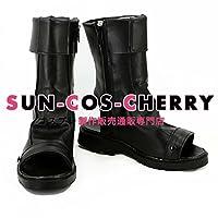 【サイズ選択可】コスプレ靴 ブーツ K-1959 NARUTO ナルト 旗木カカシ 女性22.5CM