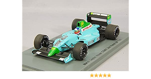 Spark S2979 March Leyton House CG901 French GP 1990 Ivan Capelli 1//43 Scale