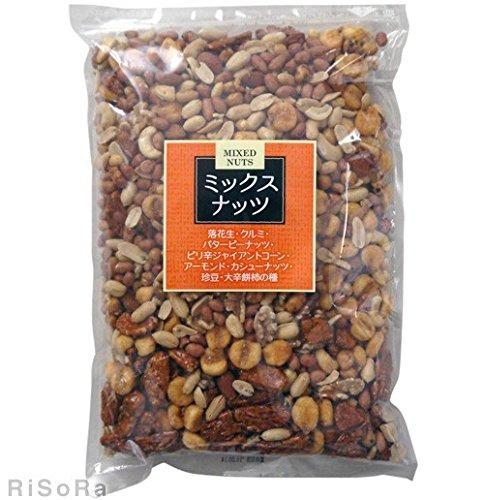 ミックスナッツ 1kg /金鶴(2袋)