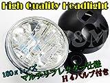Q-2-1 ヘッドライト マルチリフレクター 180π GS400 GSX250E GSX400E ザリ ゴキ GSX400FS インパルス Inazuma400 バンディット250 バンディット400