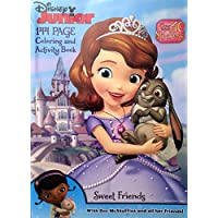 Disney Junior Sofia the First Sweet Friendsカラーリングandアクティビティブックwith Doc McStuffins &すべて彼女友達 – 144ページ& Over 30ステッカー