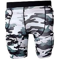 Fityle コンプレッションウェア セット メンズ トレーニング スポーツウェア 半袖 ハーフパンツ タイツ 吸汗速乾 全4サイズ